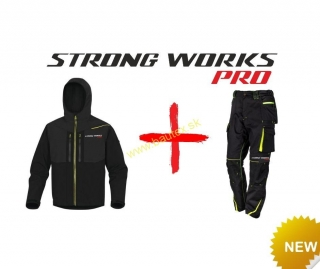 SET STRONG WORKS PRO (bunda + nohavice)